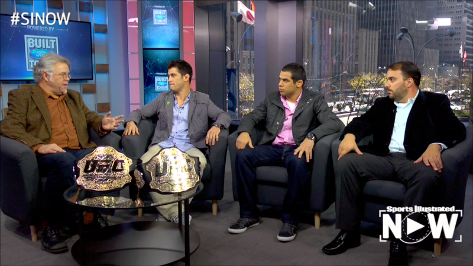 Live TV Interview with UFC World Champions - Portuguese Interpreter