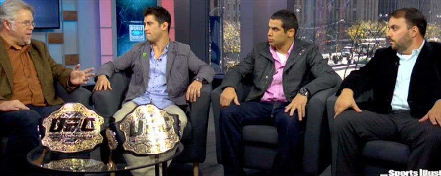 Live TV Interview with UFC World Champions - Portuguese Interpreter NYC and United States