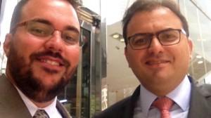 Marcus Vinicius Furtado Coelho e Everton Morais